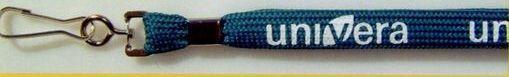 """3/8""""x36"""" Silk Screened Shoelace Lanyard W/Water Bottle Holder/Plastic Clip"""