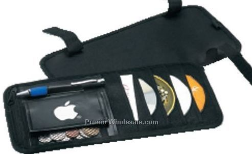 6 CD Automotive Visor Organizer