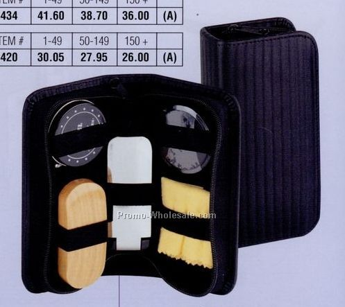 "7""x3-1/2"" Elan Shoeshine Kit"
