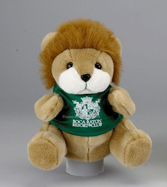 """9"""" Lion Hand Puppet W/ Shirt"""