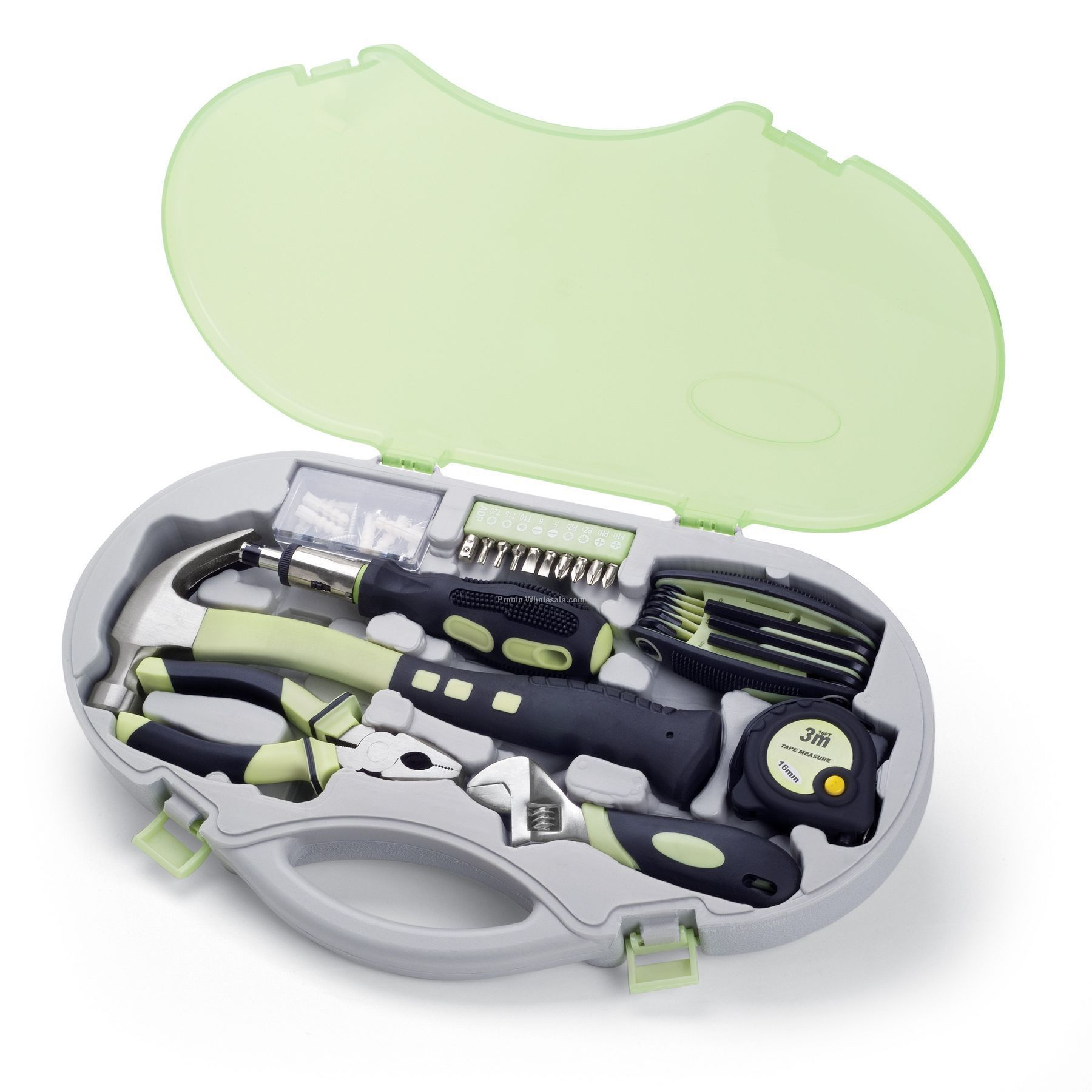 Bella Compact 6 Piece Tool Kit With Comfort Grip Handles