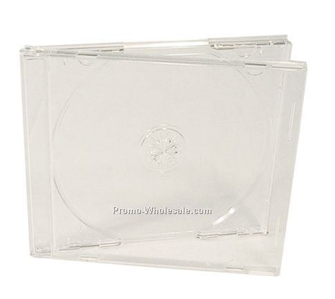CD Jewel Case W/ Clear Tray