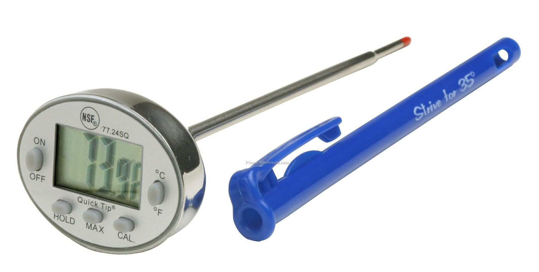 Cal-temp Self Calibration Digital Thermometer