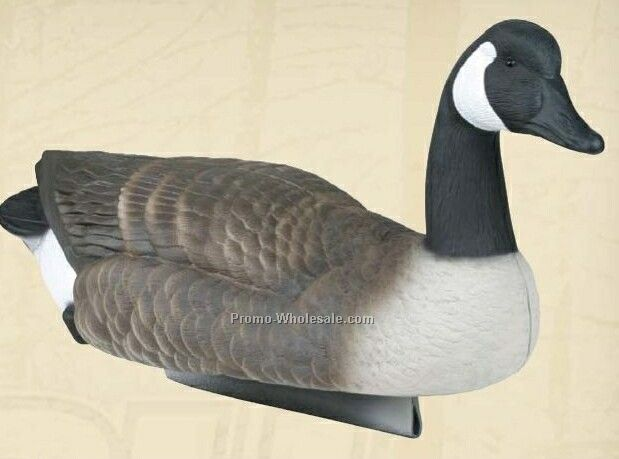 Canada Goose Floater Decoy W/ Weighted Keel