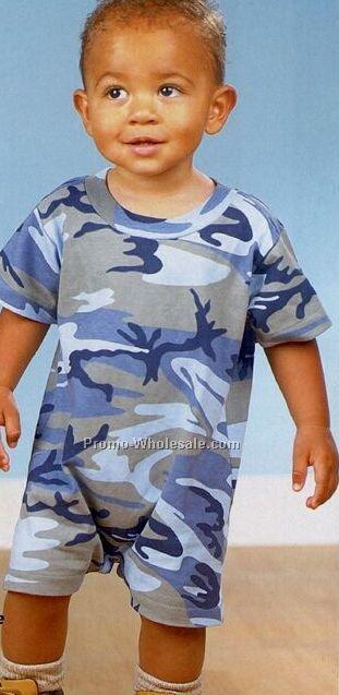 Code V Infant Camouflage T-romper (6m-24m)