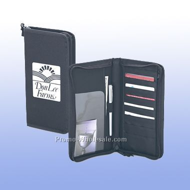 3 Ring Binder Organizer With Zipper Closure 11 Quot X13 3 4 Quot X2
