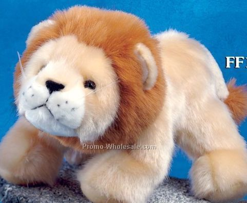 "Floppy Family Lion Stuffed Animal (10"")"