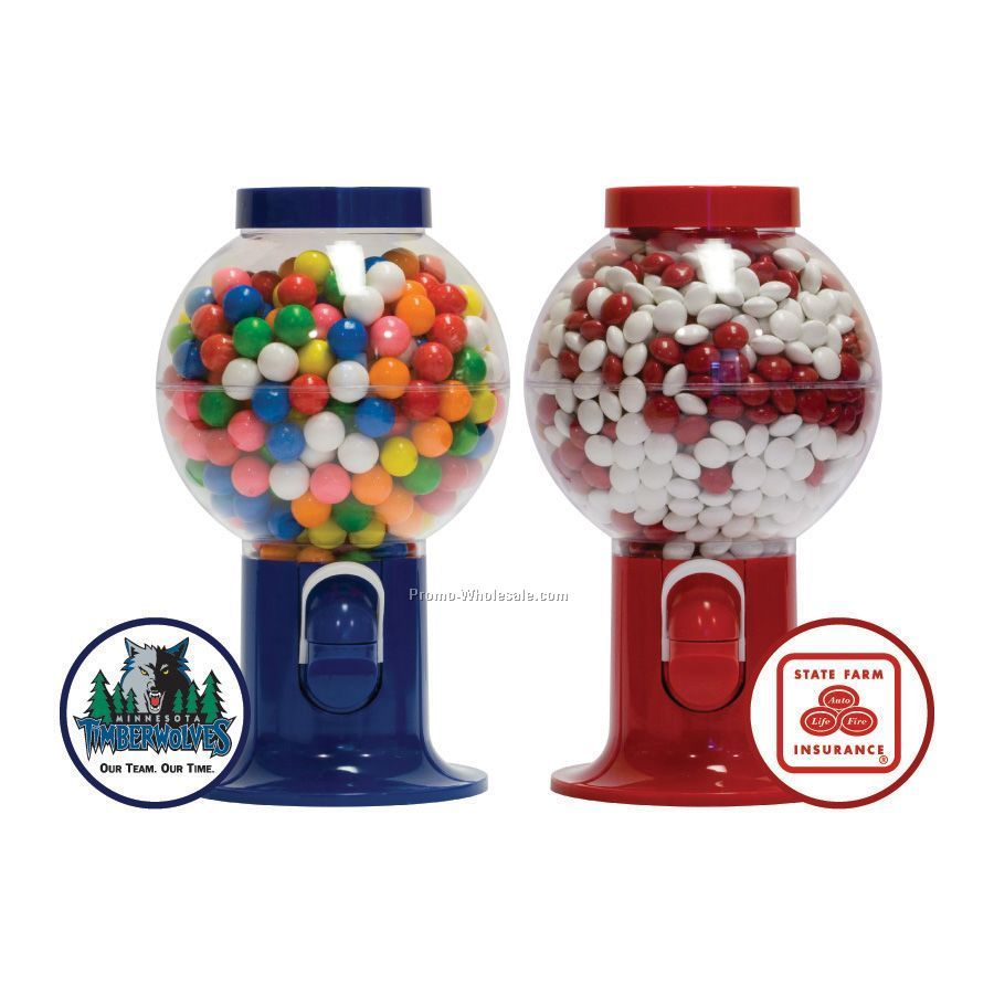 Gumball Machine Filled W/Signature Peppermints