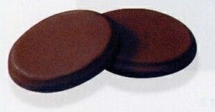 Individually Wrapped Milk Chocolate Oval Candy (Color/ Flexograph)
