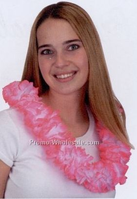 Jumbo Pink Hawaiian Lei