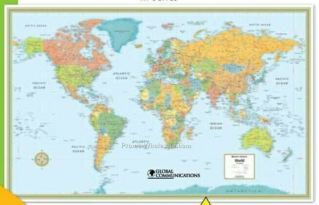 World Wall Maps | Metro Map | Bus Routes | Metrobus Way Map ... World Wall Maps