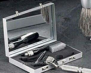 Mach 3 Razor & Toothbrush Travel Set With Mirror