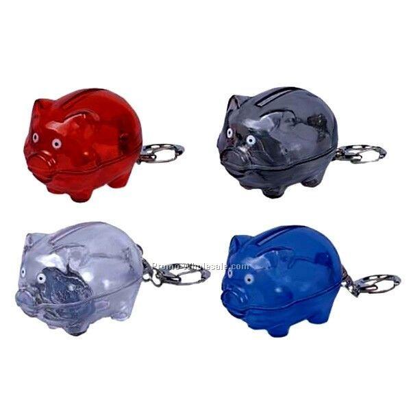 Pig Coin Bank Key Chain