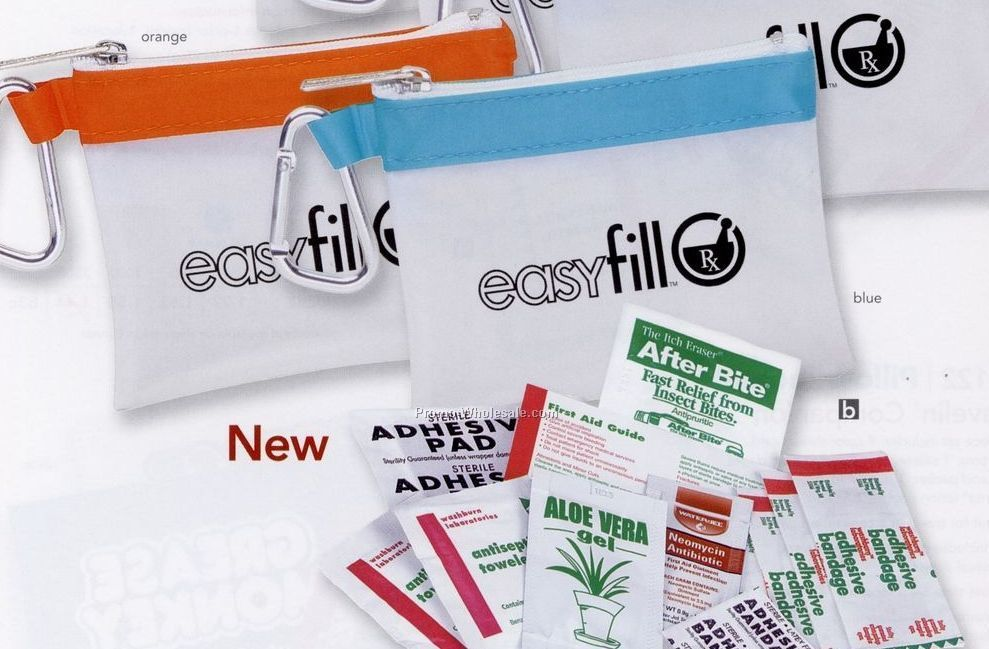 Pillowline Frosty Stripe First Aid Kit