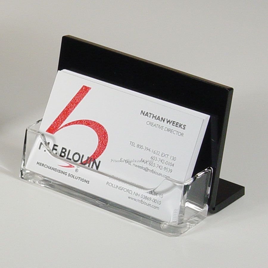 Single pocket business card holderwholesale china for Bulk business card holders