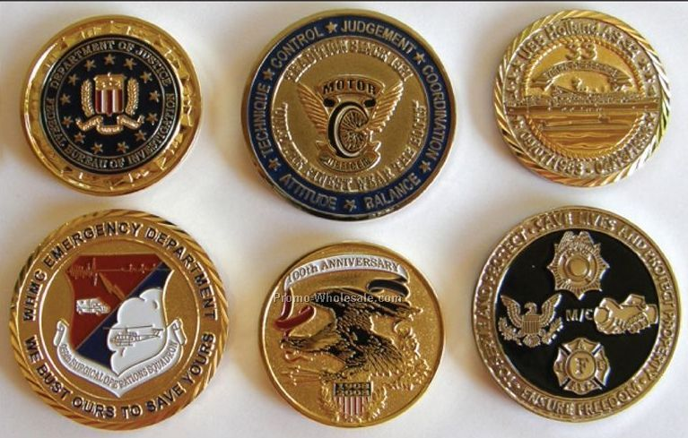 Soft Enamel Coins,