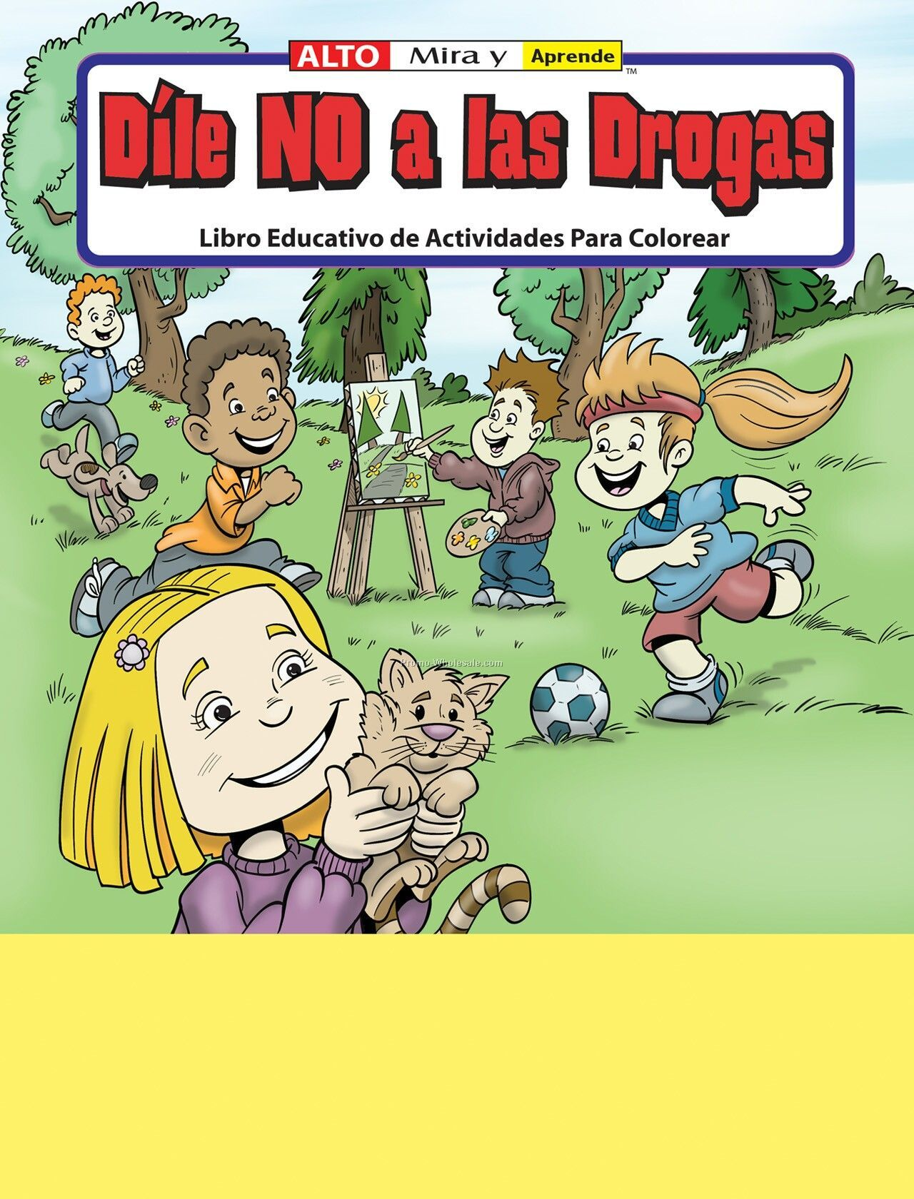 Stay Drug Free - Dile No A Las Drogas Spanish Coloring Fun Pack