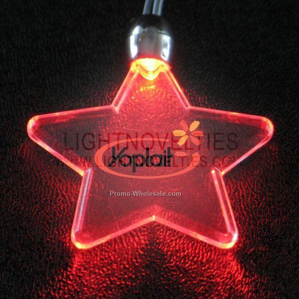 L E D Light Up Necklaces Blue White Wholesale China