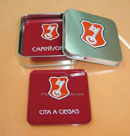 Tin Coaster Sets