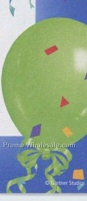 "11"" Premier Print Imprinted Balloon"