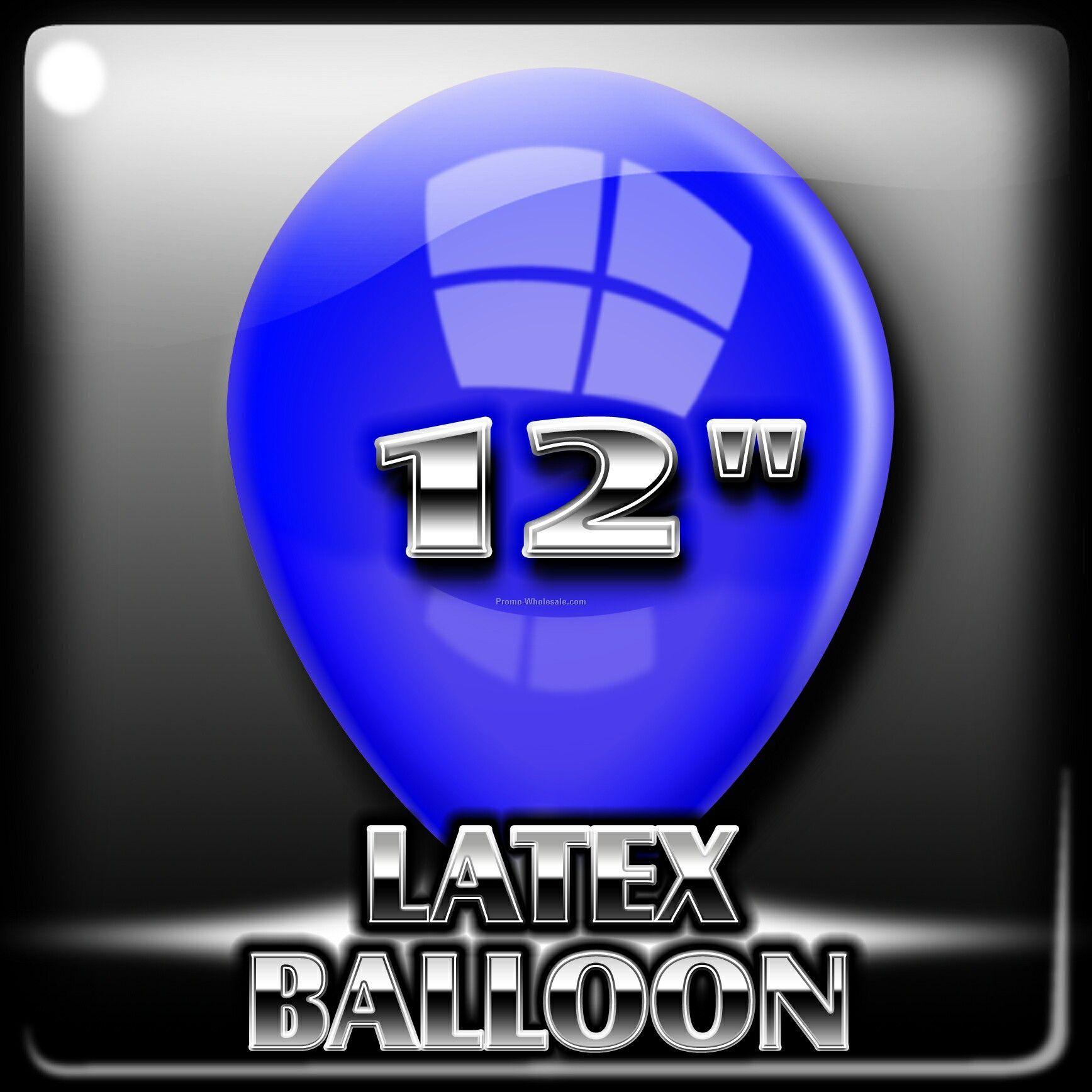 """12"""" Crystal Latex Balloon"""