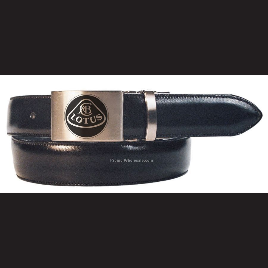 35mm Classic Italian Leather Belt W/ Versatile Clamp - 1 Color
