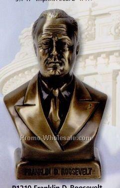 """4-1/2"""" Franklin D Roosevelt Bank"""