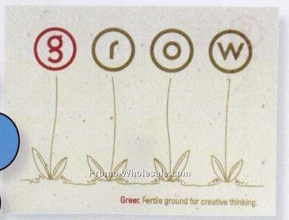 "4""x6"" Printed Seeded Paper Postcards"