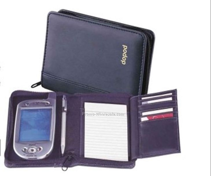 "4""x6-1/2""x1"" Leather PDA Case"