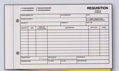 Requisition Form Free Stock Requisition From Formville You Can