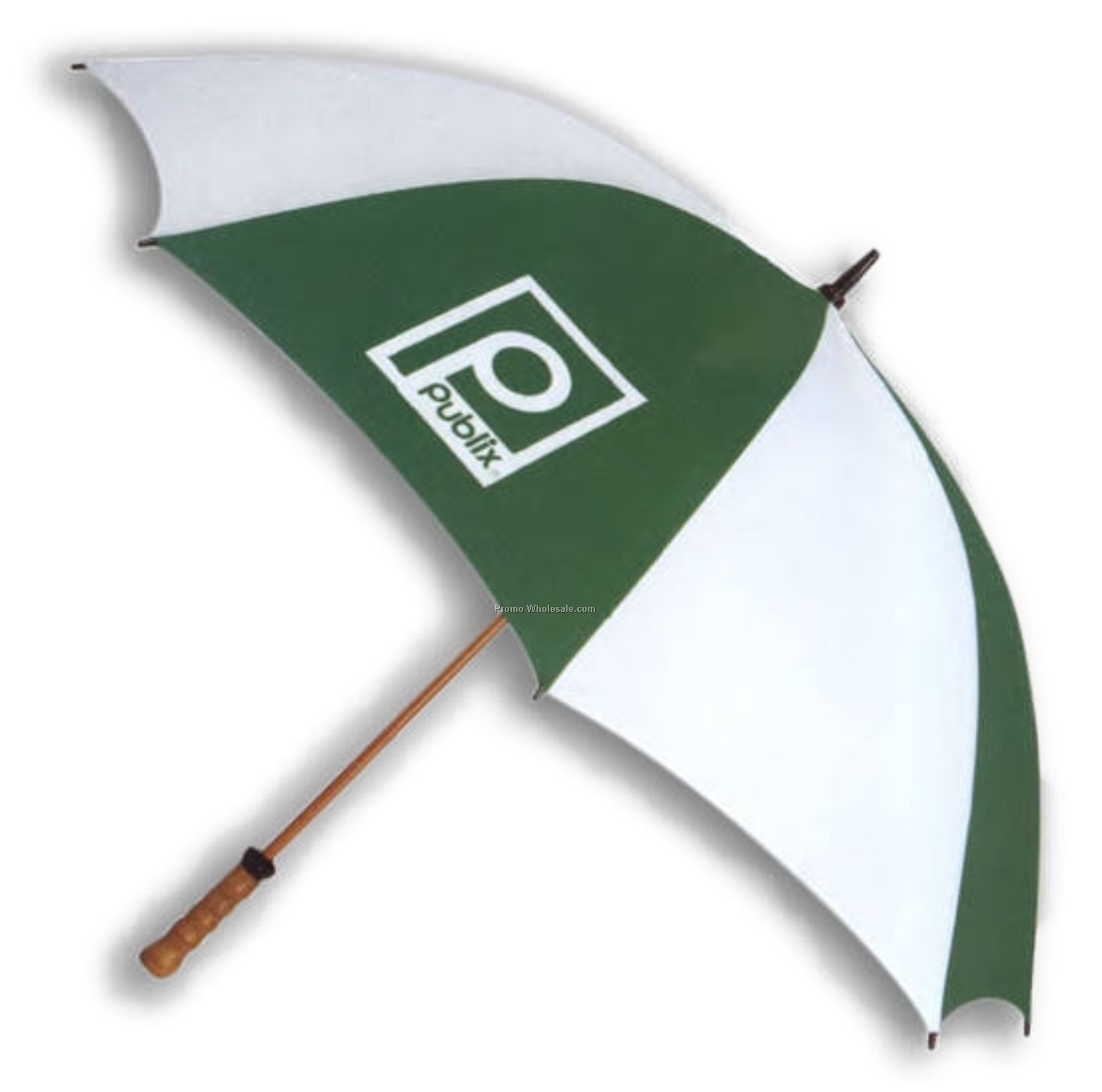"58"" Classic Umbrella W/ Wood Shaft & Handle"
