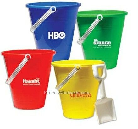 "6"" Pail & Shovel Assortment"