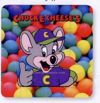 "8""x8""x1/4"" Full Color Mouse Pad Puzzle - 16 Piece"