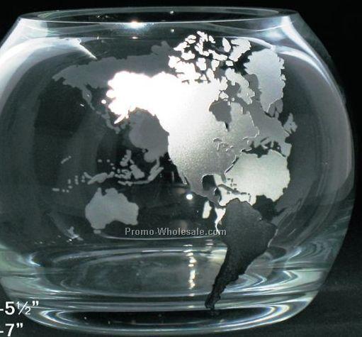 """9"""" Clear Globe Bowl"""