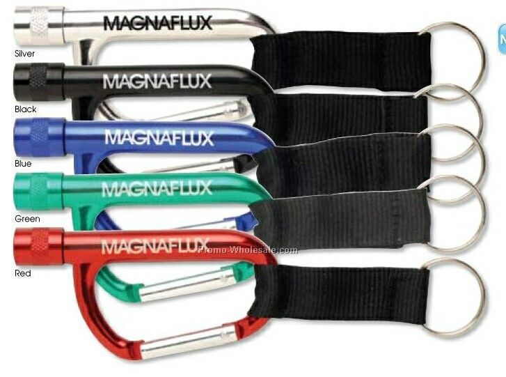 Carabiner Light With Strap