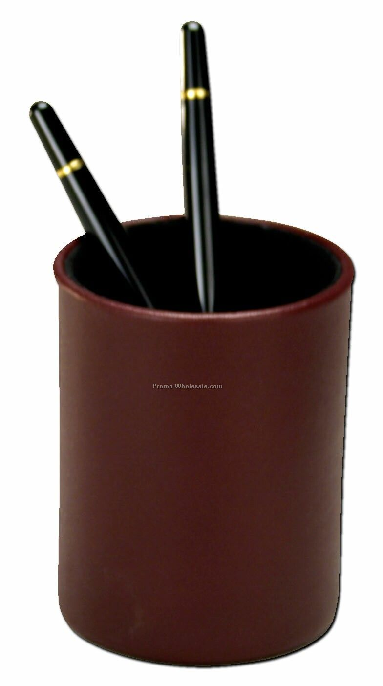 Contemporary Style Leather Pencil Cup Holder Wholesale China