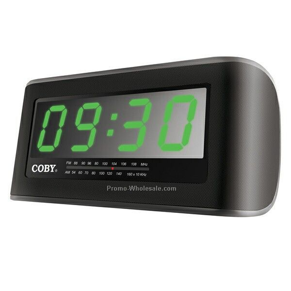 digital am fm alarm clock radio w 2 jumbo display wholesale china. Black Bedroom Furniture Sets. Home Design Ideas