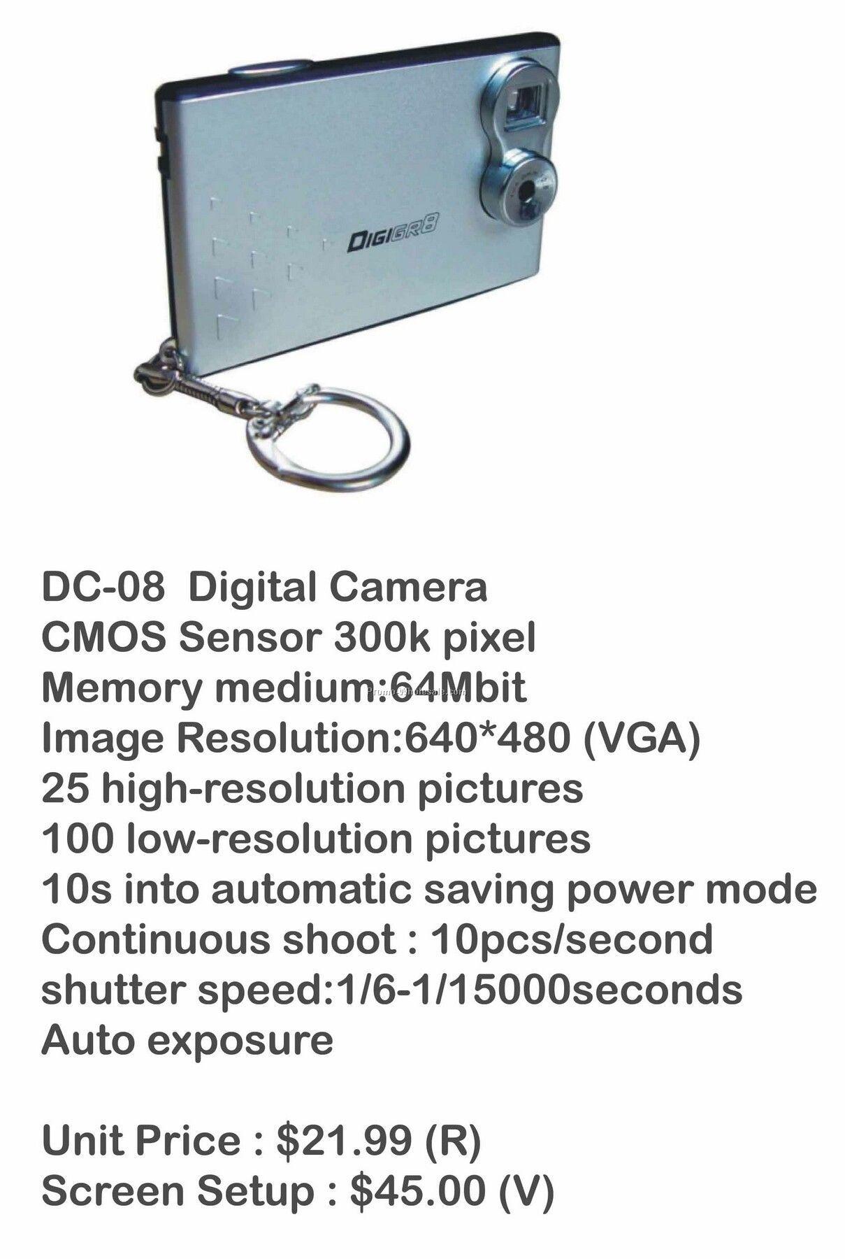 Digital Camera, Video Camera, Web Cam, Stores Photos, 64mb Memory