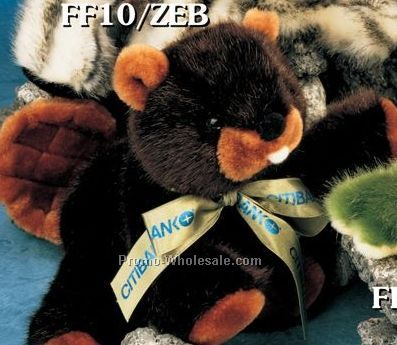 "Floppy Family Beaver Stuffed Animal (10"")"