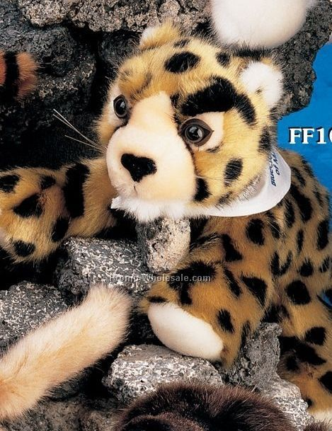 "Floppy Family Leopard Stuffed Animal (10"")"