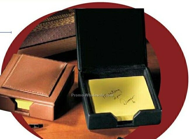 Florentine Napa Leather Note Holder