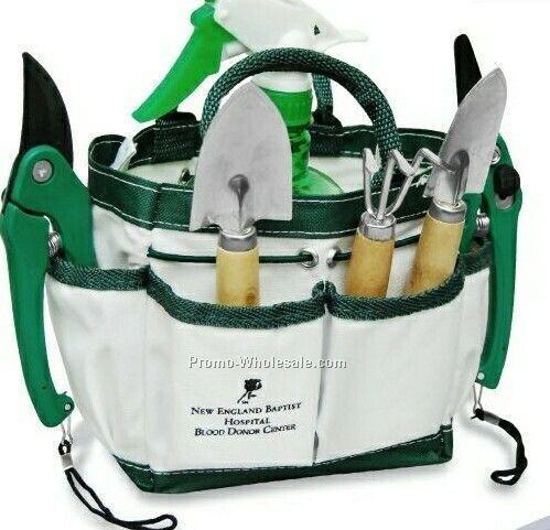 Gardening Tote Bag W/ Tool Set