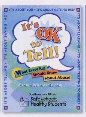 It's Ok To Tell! Educational Activities Book