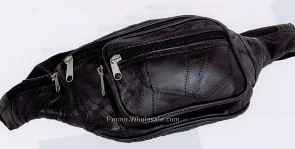 Leather Fanny Pack (Blank)