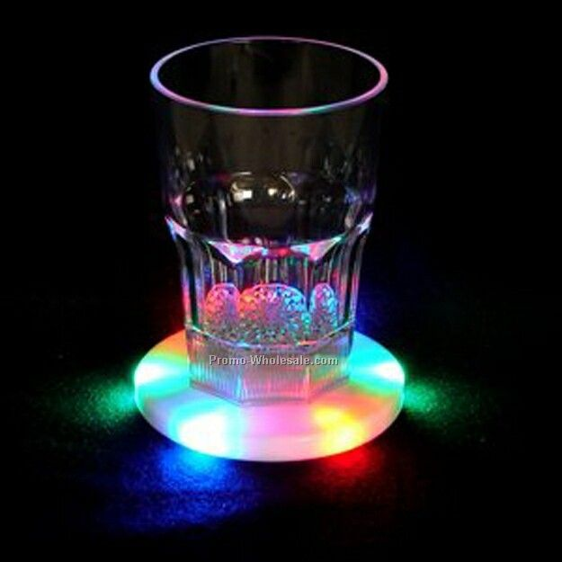 Light up coaster red green blue led wholesale china - Lighted coaster ...