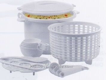 Microwave Rice And Pasta Cooker Set