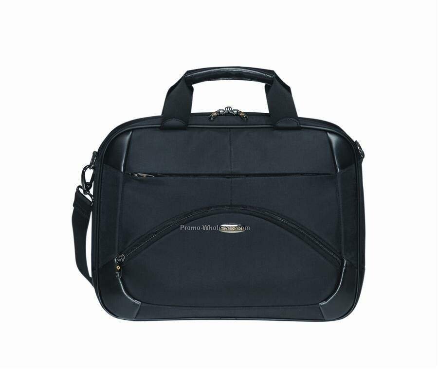 Slim Toploader Briefcase