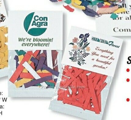 Seed Confetti Packet - Mixed Colors