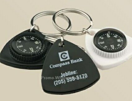 Triangle Compass Key Chain - 3 Day Service
