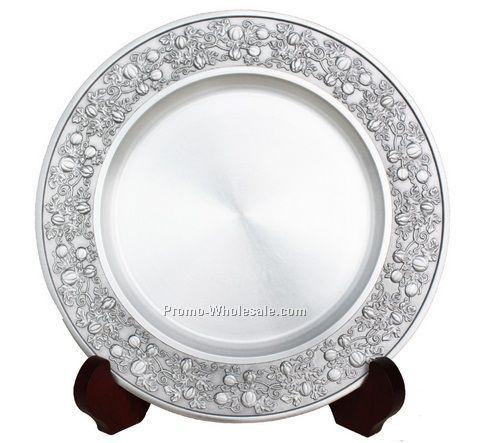 21cm Diameter Decorative Rim Tin Plate Wholesale China